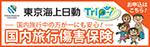 東京海上日動国内旅行傷害保険