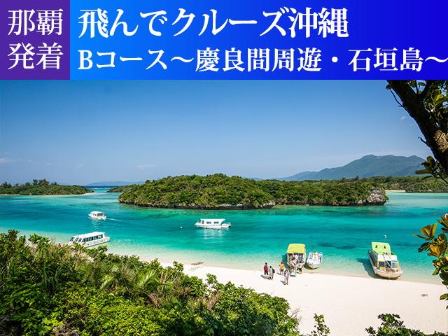 飛んでクルーズ沖縄Bコース~慶良間周遊・石垣島~