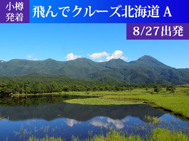 小樽発着 飛んでクルーズ北海道Aコース[8/27出発]