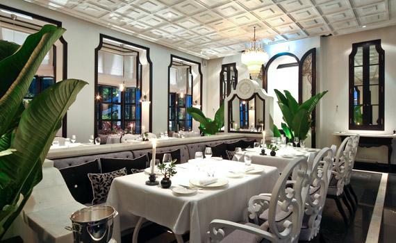 レストラン『ラ・マイソン1888 La Maison 1888』